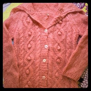 Free People Mohair Cardigan Sweater